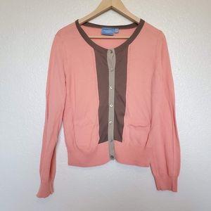 Vera Wang button down sweater. Size L